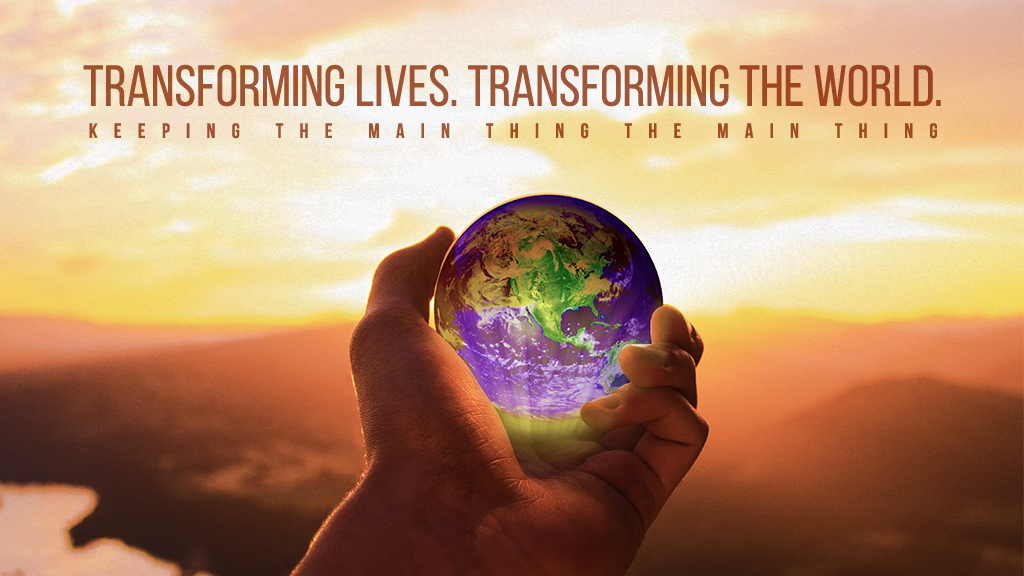 Vision Sunday: Transforming Lives, Transforming the World